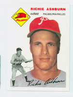 Richie Ashburn AUTOGRAPH d.97 Topps 1954 Archives Phillies 