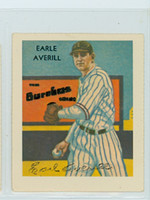 Earl Averill HOF AUTOGRAPH d.83 Dover Reprints Diamond Stars Indians 