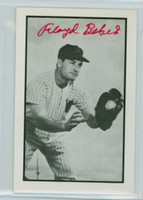 Floyd Baker AUTOGRAPH d.04 1953 Bowman B|W  Reprints Red Sox 