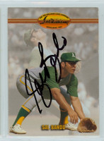 Sal Bando AUTOGRAPH Ted Williams Athletics 