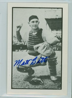 Matt Batts AUTOGRAPH d.13 1953 Bowman B|W  Reprints Tigers 