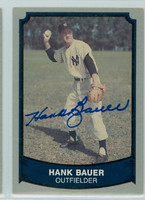 Hank Bauer AUTOGRAPH d.07 1989 1988|89 Pacific Legends Yankees 