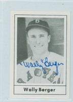 Wally Berger AUTOGRAPH d.88 1978 Grand Slam Braves 