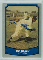 Joe Black AUTOGRAPH d.02 1989 1988|89 Pacific Legends Dodgers 