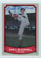 Ewell Blackwell AUTOGRAPH d.96 1988|89 Pacific Legends 