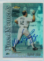 Wade Boggs AUTOGRAPH Topps Finest Insert Finest Moments - 3000 Hits /425 Rays CERTIFIED 