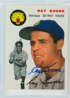 Ray Boone AUTOGRAPH d.04 Topps 1954 Archives #77 Tigers 