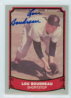 Lou Boudreau AUTOGRAPH d.01 1988|89 Pacific Legends 1988 