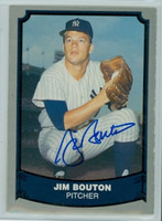 Jim Bouton AUTOGRAPH 1988|89 Pacific Legends Yankees 
