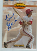 Larry Bowa AUTOGRAPH Ted Williams Phillies 