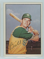 Bill Bryan AUTOGRAPH 1978 TCMA The Sixties Athletics 