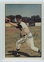 Jim Busby AUTOGRAPH d.96 1979 TCMA The Fifties Senators 