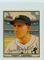 Soupy Campbell AUTOGRAPH d.00 1941 Play Ball Reprints Tigers 