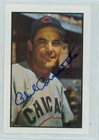 Phil Cavarretta AUTOGRAPH d.10 1953 Bowman Color Reprints Cubs 