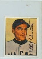 Phil Cavarretta AUTOGRAPH d.10 1950 Bowman Reprints Cubs 
