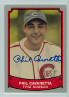 Phil Cavarretta AUTOGRAPH d.10 1989 1988|89 Pacific Legends Cubs 