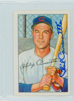 Phil Cavarretta AUTOGRAPH d.10 1952 Bowman Reprints Cubs 