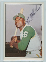 Ed Charles AUTOGRAPH 1978 TCMA The Sixties Athletics 