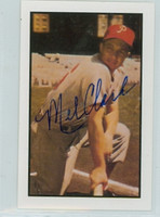 Mel Clark AUTOGRAPH d.14 1953 Bowman Color Reprints Phillies 
