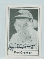 Doc Cramer AUTOGRAPH d.90 1978 Grand Slam Red Sox 