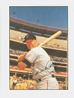 Del Crandall AUTOGRAPH 1978 TCMA The Sixties Giants 