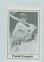 Frank Crosetti AUTOGRAPH d.02 1978 Grand Slam Yankees 