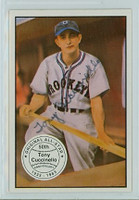 Tony Cuccinello AUTOGRAPH d.95 1983 Big League Collectibles Dodgers 