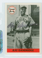 Ray Dandridge AUTOGRAPH d.94 1992-95 Front Row 