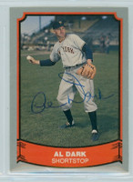 Al Dark AUTOGRAPH d.14 1988|89 Pacific Legends 