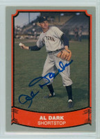 Al Dark AUTOGRAPH d.14 1988 1988|89 Pacific Legends Giants 