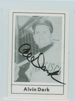 Al Dark AUTOGRAPH d.14 1978 Grand Slam Giants 