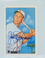 Jim Delsing AUTOGRAPH d.06 1952 Bowman Reprints Browns 