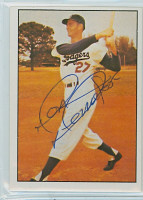 Don Demeter AUTOGRAPH 1979 TCMA The Fifties Dodgers 