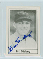 Bill Dickey AUTOGRAPH d.93 1978 Grand Slam Yankees 