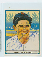 Dom DiMaggio AUTOGRAPH d.09 1941 Play Ball Reprints Red Sox 