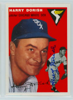 Harry Dorish AUTOGRAPH d.00 Topps 1954 Archives #110 White Sox 
