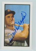 Walt Dropo AUTOGRAPH d.10 1953 Bowman Color Reprints Tigers 