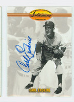 Carl Erskine AUTOGRAPH Ted Williams Dodgers 