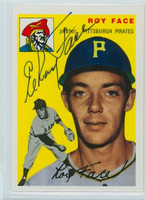 Elroy Face AUTOGRAPH Topps 1954 Archives #87 Pirates   [SKU:FaceR1218_T54BBRPLB]
