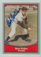 Bob Feller AUTOGRAPH d.10 1990 Pacific Legends Indians 