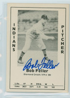 Bob Feller AUTOGRAPH d.10 1979 TCMA Diamond Greats Indians 