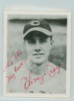 Lonny Frey AUTOGRAPH d.09 Pre-War Reprints 1939 Play Ball Reds  PERS