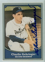 Charlie Gehringer AUTOGRAPH d.93 1990 Pacific Legends Tigers 