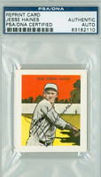 Jesse Haines AUTOGRAPH d.78 Tatoo Orbit Reprints Cardinals PSA/DNA 