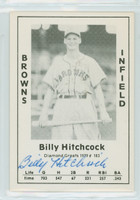 Billy Hitchcock AUTOGRAPH d.06 1979 TCMA Diamond Greats Browns 