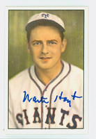 Waite Hoyt AUTOGRAPH d.84 1982-83 Diamond Classics Giants 