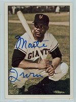 Monte Irvin AUTOGRAPH d.16 1979 TCMA The Fifties Giants 