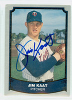Jim Kaat AUTOGRAPH 1988|89 Pacific Legends Twins 