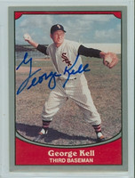 George Kell AUTOGRAPH d.09 1990 Pacific Legends White Sox 