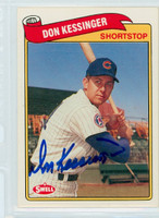 Don Kessinger AUTOGRAPH Swell Cubs 